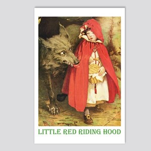 Little Red Riding Hood Postcards (Package of 8)