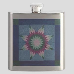 Star Quilt Flask