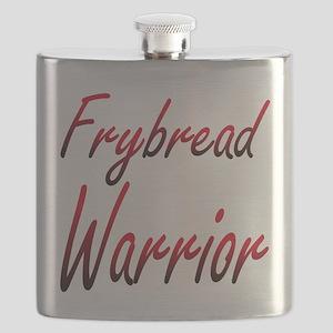 Frybread Warrior Flask