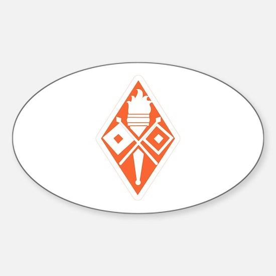 Fort Gordon Sticker (Oval)