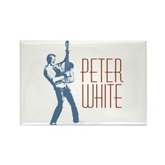 Peter White Design 2 Rectangle Magnet