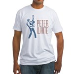 Peter White Design 2 Fitted T-Shirt