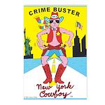 CRIME BUSTER(New York Cowboy) Postcards (8)