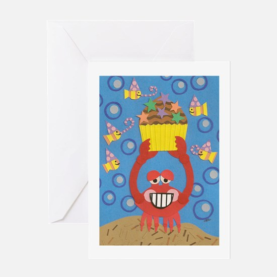 Crabby Birthday Greeting Card