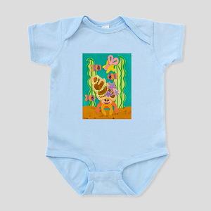 Glamour Hermit Crab Infant Bodysuit