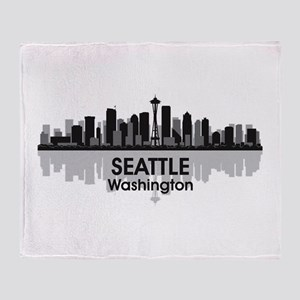 Seattle Throw Blanket