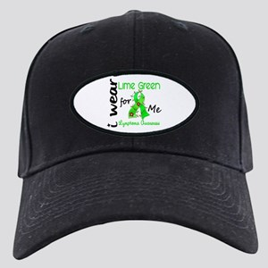 I Wear Lime 43 Lymphoma Black Cap