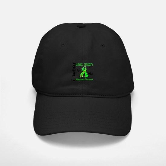 I Wear Lime 43 Lymphoma Baseball Hat