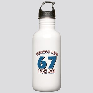 Nobody does 67 like me Stainless Water Bottle 1.0L