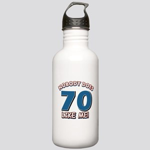 Nobody does 70 like me Stainless Water Bottle 1.0L