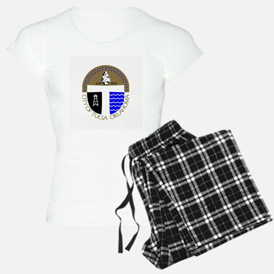 Tulsa Flag Pajamas