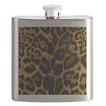 Jaguar Print Flask