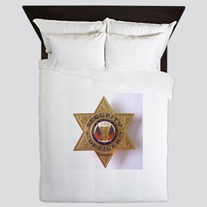 Security7StarBadge Queen Duvet