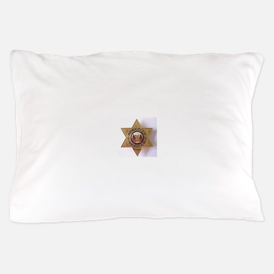 Security7StarBadge.jpg Pillow Case