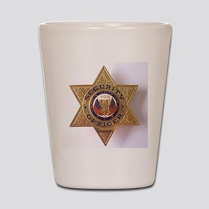 Security7StarBadge Shot Glass
