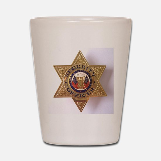 Security7StarBadge.jpg Shot Glass