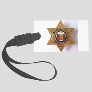 Security7StarBadge Large Luggage Tag