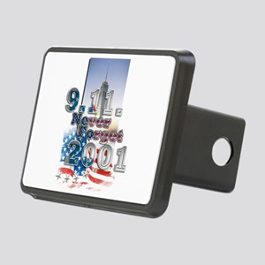 Never Forget: Rectangular Hitch Cover