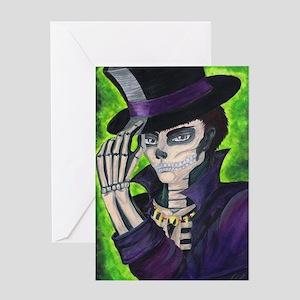 Voodoo greeting cards cafepress voodoo etiquette greeting card m4hsunfo