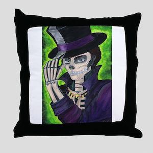 Voodoo Etiquette Throw Pillow