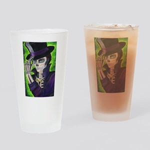 Voodoo Etiquette Drinking Glass