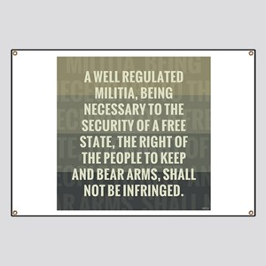The Second Amendment Banner