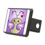 Kawaii Mother and Child Cute Hug Rectangular Hitch