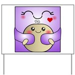 Kawaii Mother and Child Cute Hug Yard Sign