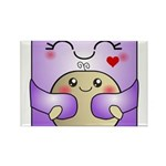 Kawaii Mother and Child Cute Hug Rectangle Magnet
