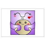 Kawaii Mother and Child Cute Hug Large Poster