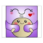 Kawaii Mother and Child Cute Hug Small Poster