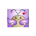Kawaii Mother and Child Cute Hug 35x21 Wall Decal