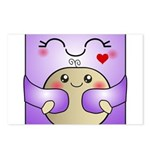 Kawaii Mother and Child Cute Hug Postcards (Packag