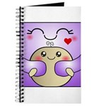 Kawaii Mother and Child Cute Hug Journal