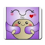 Kawaii Mother and Child Cute Hug Mousepad