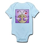 Kawaii Mother and Child Cute Hug Infant Bodysuit