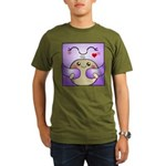 Kawaii Mother and Child Cute Hug Organic Men's T-S