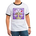 Kawaii Mother and Child Cute Hug Ringer T
