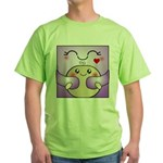 Kawaii Mother and Child Cute Hug Green T-Shirt