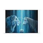 The Lion The Unicorn Mini Poster Print