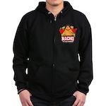 Nacho Zip Hoodie (dark)