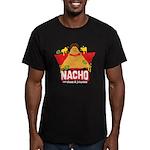 Nacho Men's Fitted T-Shirt (dark)