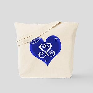 Sapphire Sweetheart Heart Logo Tote Bag