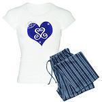 Sapphire Sweetheart Heart Logo Women's Light Pajam