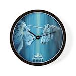 The Lion The Unicorn Wall Clock