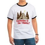 Camping Is In-Tents Ringer T