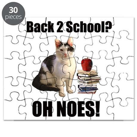 Lolcat Back to School Puzzle
