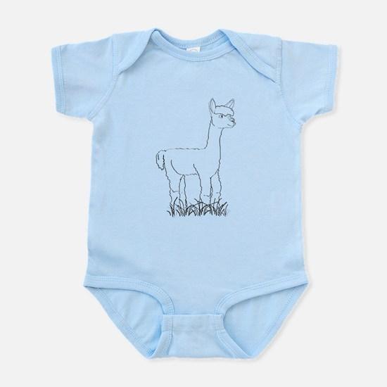 Adorable Alpaca Infant Bodysuit