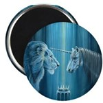 "The Lion The Unicorn 2.25"" Magnet (10 pack)"