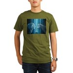 The Lion The Unicorn Organic Men's T-Shirt (dark)